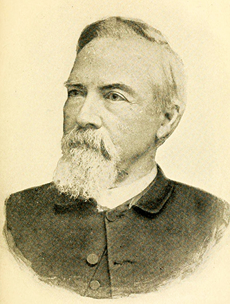 An image of the Rev. J. Henry Smith (1820-1897) published in 1902. Image from the Internet Archive.
