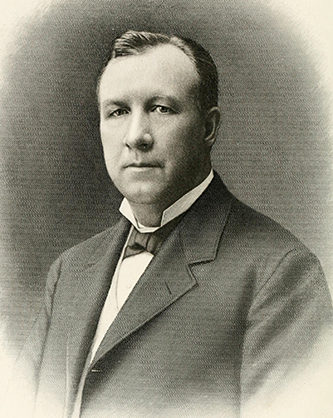A 1908 engraving of Hoke Smith. Image from Archive.org.