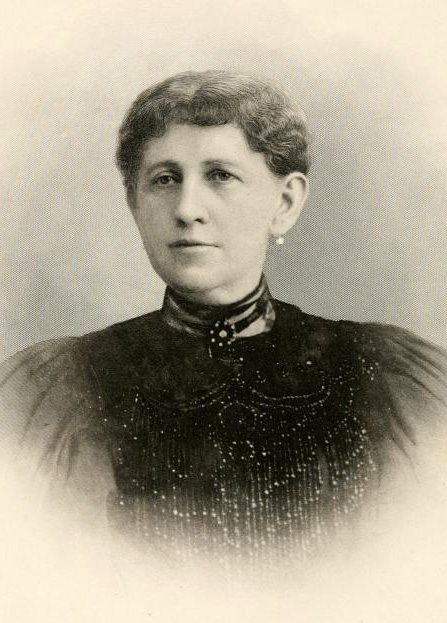 Image of Mary Bennett Smith, wife of W. A. Smith.  In Wilson's <i>Makers of America,<i/i> Vol. II, 1916.  From Archive.org.