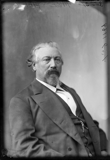 Wet collodion photographic portrait of William Alexander Smith, between 1865 and 1880.  From the Brady-Handy Photograph Collection, Library of Congress, Prints & Photographs Online Catalog.