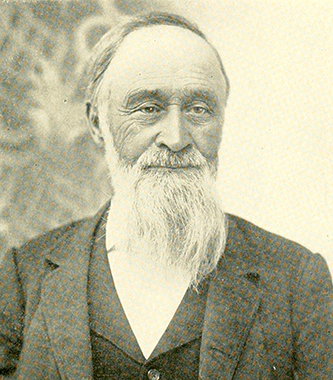 A photograph of William Henry Snow published in 1902. Image from the Internet Archive.
