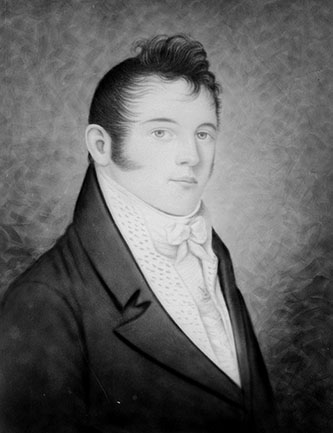 Photograph of a portrait of Richard Dobbs Spaight, Junior. Image from the State Archives of North Carolina.