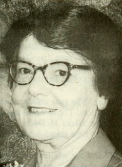 A photograph of Bessie Octavia Whittied Spence published in 1974. Image from the Internet Archive.