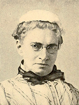Photograph of Cornelia Phillips Spencer. Image from Archive.org/University of North Carolina at Chapel Hill.