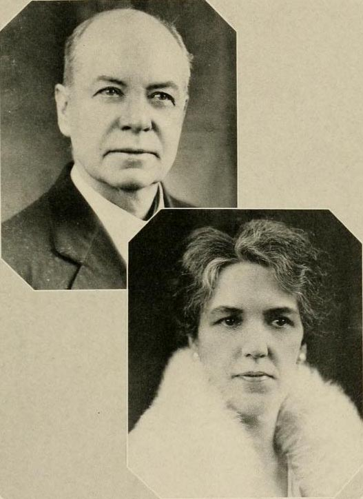 Images of John Barham Spilman and Johnetta Webb Spilman, from The Tecoan yearbook at East Carolina University, [p.9], published 1932 by Greenville, NC: East Carolina University (East Carolina Teacher's College). Presented on Digital NC.