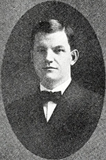 A photograph of Walter P. Stacy published in 1922. Image from Archive.org.