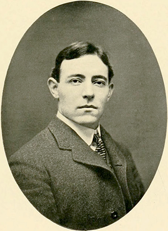 A photograph of George Stephens published in the 1903 University of North Carolina yearbook.