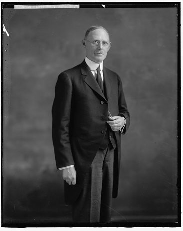 Portait fo the Honorable William F. Stevenson, by Harris & Ewing, taken between 1905 and 194[2]. From the Harris & Ewing Collection, Library of Congress Prints & Photographs Online Catalog.