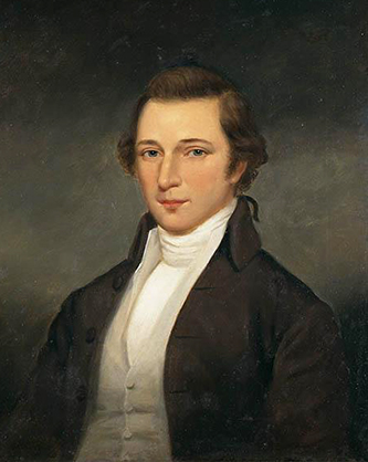 Portrait of David Stone. Image from the North Carolina Museum of History.