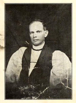Portrait of Bishop Robert Strange, from the memorial edition of the <i>Mission Herald</i>, 1914, Vol. XXVIII, No. 10, published by the Diocese of East Carolina at New Bern, NC. Presented on Archive.org.