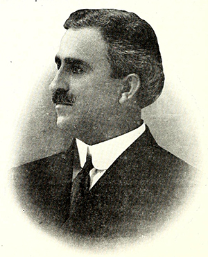 Frederick Nelson Tate during his tenure as mayor of High Point. Image from Archive.org.
