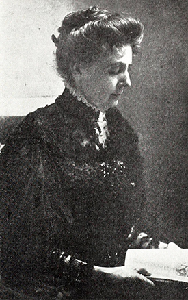 Photograph of the author Frances Christine Fisher Tiernan, aka Christian Reid. Image from Archive.org.