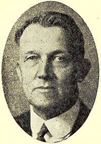A photograph of John Clyde Turner published in 1930. Image from the Internet Archive.