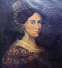 A portrait of Eliza Evans Turner, the mother of Josiah Turner, Jr. Image from the North Carolina Digital Collections.