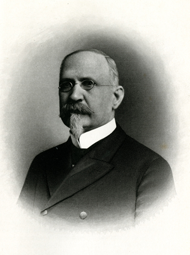 Portrait of Vines Edmunds Turner, in Samuel A. Ashe's <i>Biographical History of North Carolina</i>, Vol. 6, published 1907.