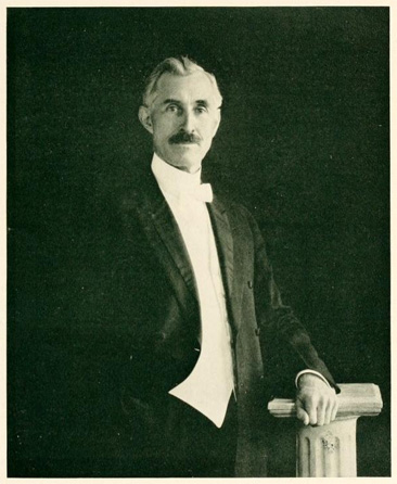 Portrait of Samuel Bryant Turrentine. In the Greensboro College (Greensboro, NC) yearbook <i>The Echo</i>, 1922, p.13.  Presented by DigitalNC.