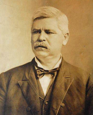Photograph of Zebulon Baird Vance circa 1880s-1890s. Image from the North Carolina Historic Sites.