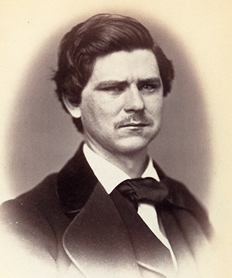 Photograph of Zebulon Baird Vance, 1859. Image from the Library of Congress.