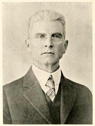 Photographic portrait of Preston Stewart Vann, circa 1921, from the Chowan College yearbook <i>The Chowanaka</i>, 1921, Vol. VII, p. 2, Murfreesboro, NC. Presented on Archive.org.