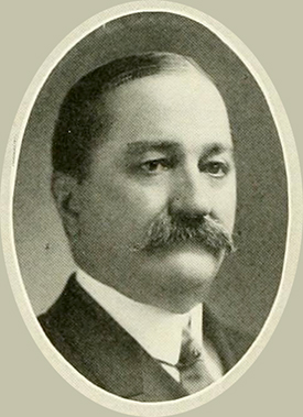 A photograph of Platt Dickinson Walker published in the 1922 University of North Carolina yearbook.