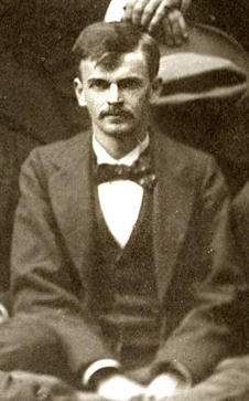 Photograph of Charles Aurelius Webb, from a group photograph of the Asheville Bar Association, circa 1898. Image from the University of North Carolina Asheville.