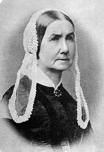 Photograph of Anna Mathilda McNeill Whistler. Image from the Library of Congress.