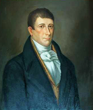 Portrait of Benjamin Williams by William C. Fields, circa 1950. Image from the North Carolina Historic Sites.