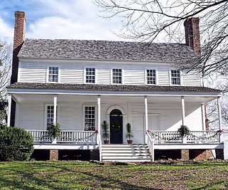 The House in the Horseshoe. Image from the North Carolina Department of Cultural Resources.