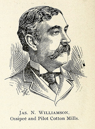 Engraving of James Nathaniel Williamson, 1897. Image from the North Carolina Digital Collections.