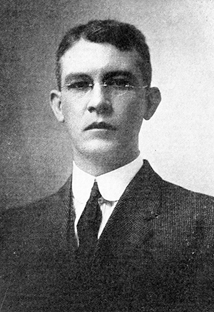 A 1921 photograph of Thomas James Wilson, Jr. Image from Archive.org.