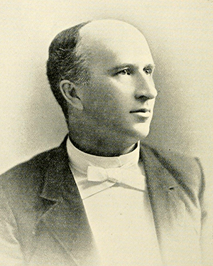 Photograph of George Tayloe Winston, circa 1893. Image from Archive.org