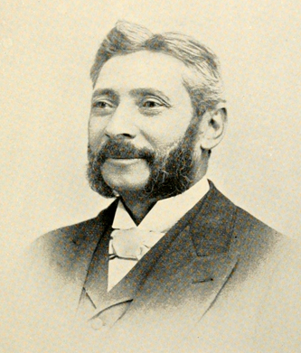 Photograph of Samuel Wittkowsky, circa 1893. Image from Archive.org.