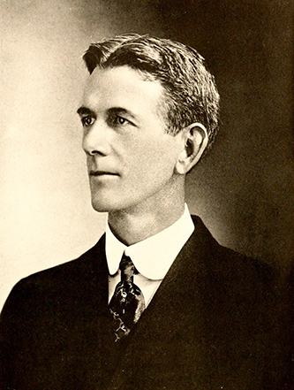 A photograph of Robert Herring Wright published in 1919. Image from the Internet Archive.