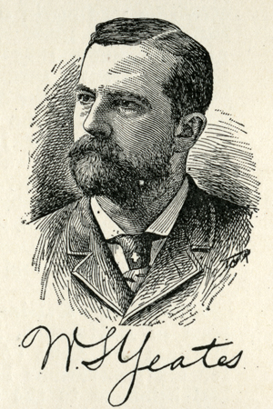 Engraving of William Smith Yeates, from <i>The National Cyclopaedia of American Biography</i>, published 1906.  From the collections of the State Library of North Carolina.