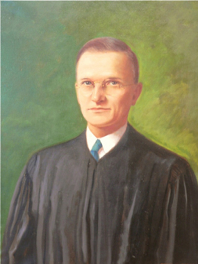 Maurice Victor Barnhill, 15th Chief Justice.  North Carolina Supreme Court Historical Society