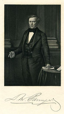 Lithograph Print of D. Moreau Barringer.