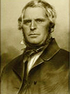 Stephen Barton (1806-1865). Courtesy of the Barton Center for Diabetes Education.