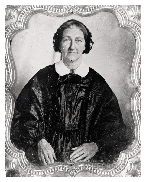 Lydia Theodora Benzien, daughter of Christian Ludwig Benzien. Image courtesy of Wake Forest University Digital Archives.