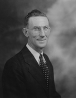 W. Ernest Bird. Acting President of Western Carolina College,1947 - 1949. Image courtesy of Western Carolina University.