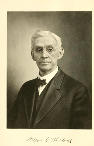 "Dr. Nelson G. Blalock. Courtesy of ""Lyman's history of old Walla Walla County, embracing Walla Walla, Columbia, Garfield and Asotin counties."""