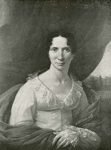 "Unidentified artist, circa 1825. ""Mary Sumner Blount"" North Carolina Portrait Index, 1700-1860. Chapel Hill: UNC Press. p. 26. (Digital page 40)."