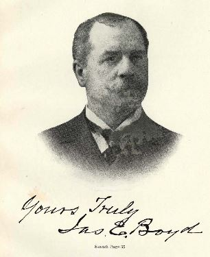 "James Edmund Boyd. Image courtesy of ""Prominent people of North Carolina: brief biographies of leading people for ready reference purposes""."