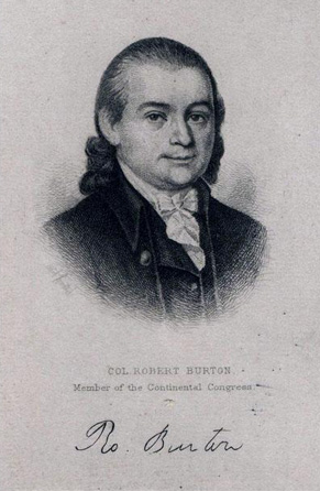 Robert Burton. Image courtesy of the NC Museum of History.