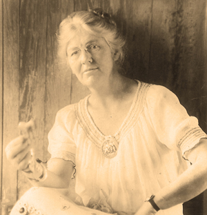Olive Dame Campbell. Image courtesy of the John C. Campbell Folk School.