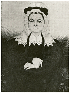 "Unidentified artist, circa 1823. ""Margaret Lloyd Osborne Davidson."" North Carolina Portrait Index, 1700-1860. Chapel Hill: UNC Press. p. 62. (Digital page 76)."