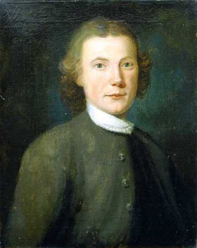 John Ettwein, painted by John Valentine Haidt,1754. Image courtesy of the Moravian Historical Society.