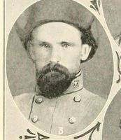 John Marion Gallaway. Image courtesy of Histories of the several regiments and battalions from North Carolina, in the great war 1861-'65.