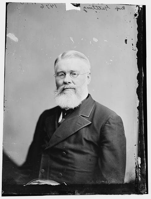 Richard Jordan Gatling. Image courtesy of Library of Congress.