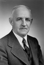 Portrait of Frank Porter Graham, from the Biographical Directory of the U.S. Congress.