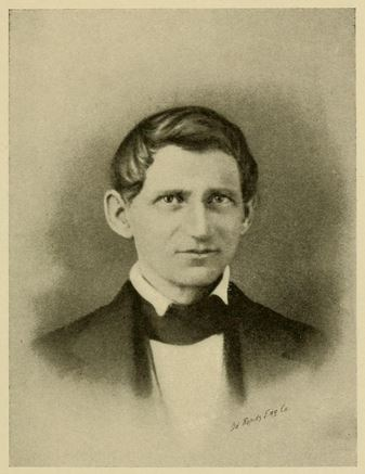 Portrait of Thomas Jefferson Holton. From Daniel Augustus Tompkins' History of Mecklenburg County, published 1903, Charlotte, N.C.